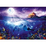 Whales in the Moonlight - 1000pc