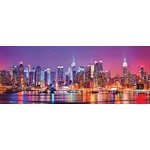 New York - Triptochon - Panoramic - 1000pc