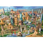 World Landmarks - 1000pc
