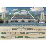 The Tyne Bridges - 1000pc