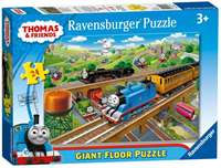 Thomas and Friends - Busy Sodor Giant Floor Puzzle - 24pc