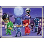 PJ Masks - Glow in the Dark Floor Puzzle - 60pc