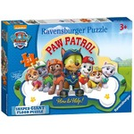 Paw Patrol - Shaped Floor Puzzle - 24pc