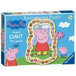Peppa Pig Shaped Floor Puzzle - 24pc
