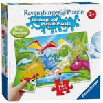 Dino Friends - Waterproof Plastic Puzzle - 12pc