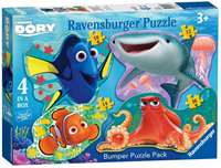 Finding Dory - 4 Shaped Puzzles