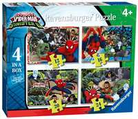 Marvel Spider Man - 4 in 1