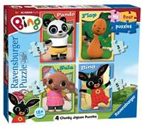 Bing Bunny - My First Puzzle - 4 in 1