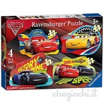 Disney Cars 3 - 4 Shaped Puzzles