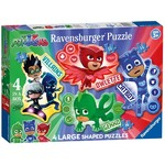 PJ Masks - Four Large Shaped Puzzles