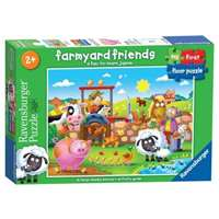 My First Floor Puzzle - Farmyard Friends