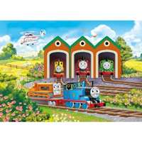 thomas and friends shaped floor puzzle