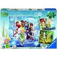 disney fairies - 3 x 49 piece
