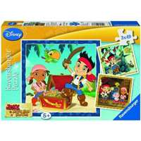 jake & the neverland pirates - 3 x 49 piece