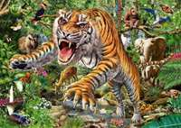 Tiger Attack - 500pc
