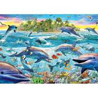 Dolphin Reef - 500pc