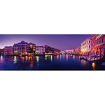 Grand Canal - Venice at Night - Panoramic 1000pc