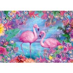 Flamingos - 500 pieces