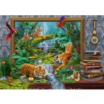 Tiger in the Jungle - 1000pc