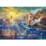 Thomas Kinkade - Disney - The Little Mermaid - 1000pc