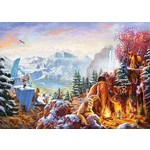 Thomas Kinkade - Disney - Ice Age - 1000pc