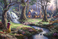Thomas Kinkade - Disney - Snow White - 1000pc