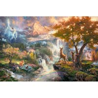 Thomas Kinkade - Disney - Bambi - 1000pc