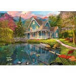 Retirement by the Lake - 1000pc