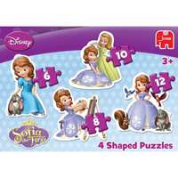 Sofia the First 4in1 Shaped Puzzle