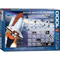 Space Shuttle - Atlantis Missions - 1000pc