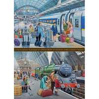 St Pancras - Now and Then - 1000pc
