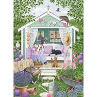 Summer Garden Cats - 1000pc
