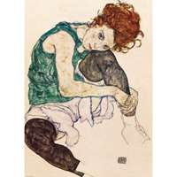 The Artists Wife - Egon Schiele