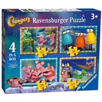 The Clangers - 4 in 1