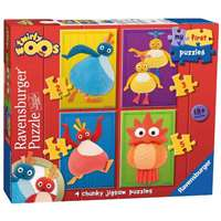 Twirlywoos - My First Puzzle - 4 in 1