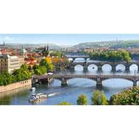 Vltava Bridges in Prague - 4000pc