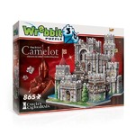 King Arthur - Camelot - 3D Puzzle Building - 865pc