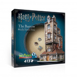 The Burrow - Weasley Family Home - 415pc 3D