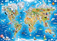 Gibsons Wonderful World Jigsaw Puzzle