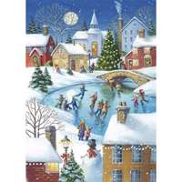 Ice Skating at Christmas - 1000pc